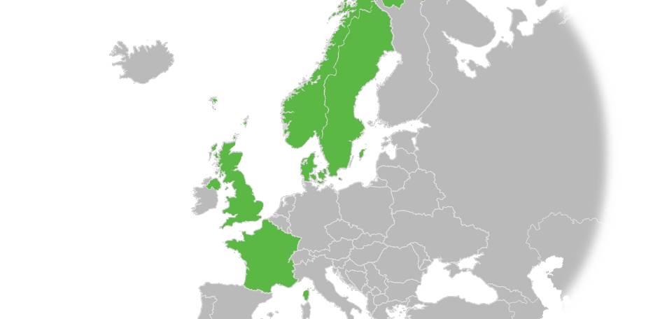 Paragona w Europie
